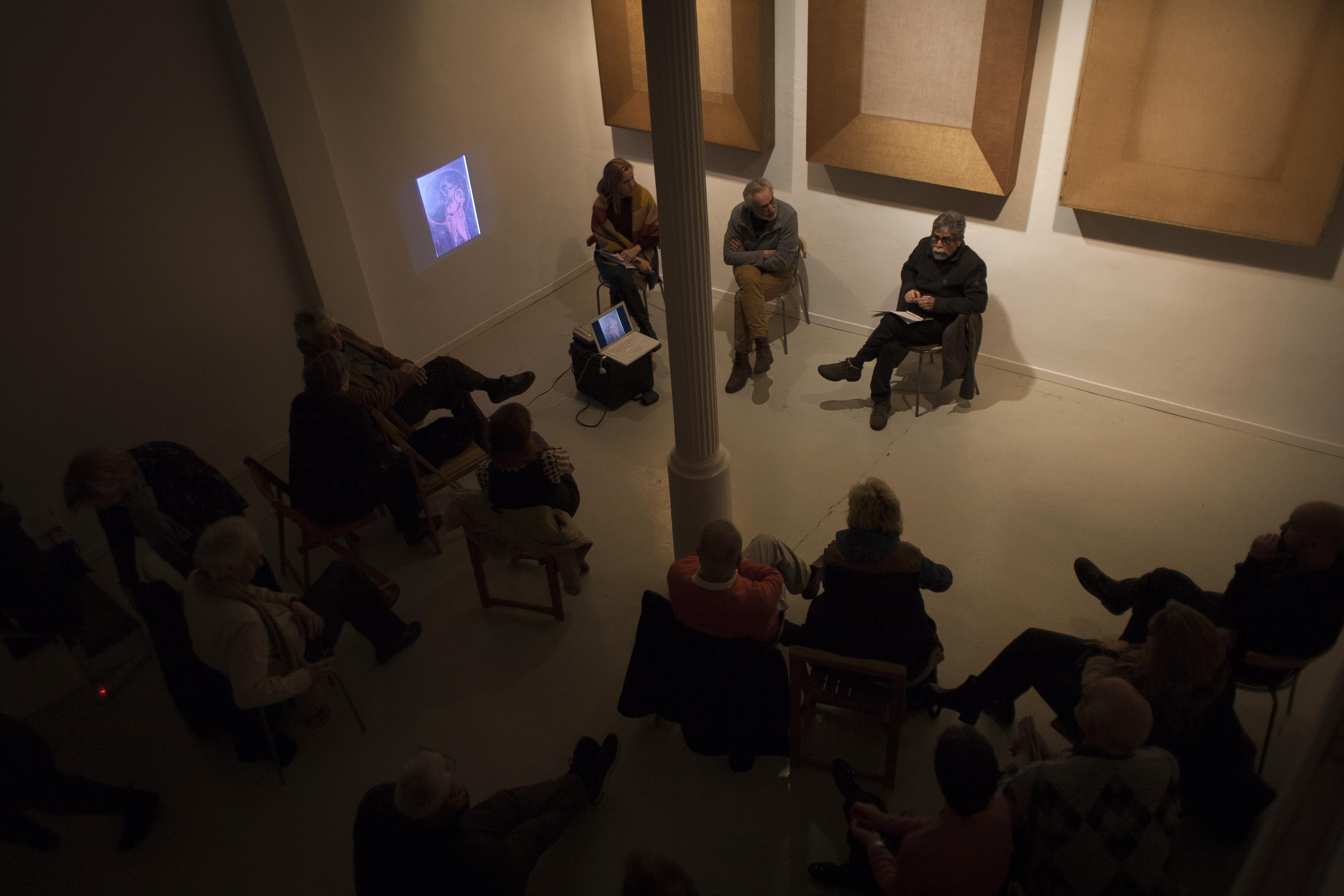 Conversación entre Joan Ill y Antonio Lazo sobre la exposición Sacralis